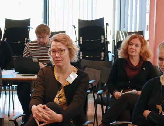 Partners from Tartu, Helsinki and Gdansk.
