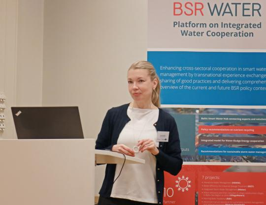 Nora Sillanpää, keynote on stormwater management trends