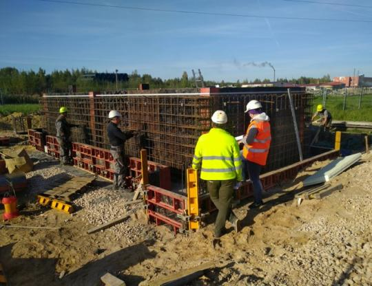 Construction at Latvijas PIens