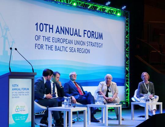 EUSBSR plenary session